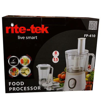 RITE-TEK MULTIPURPOSE FOOD PROCESSOR FP410