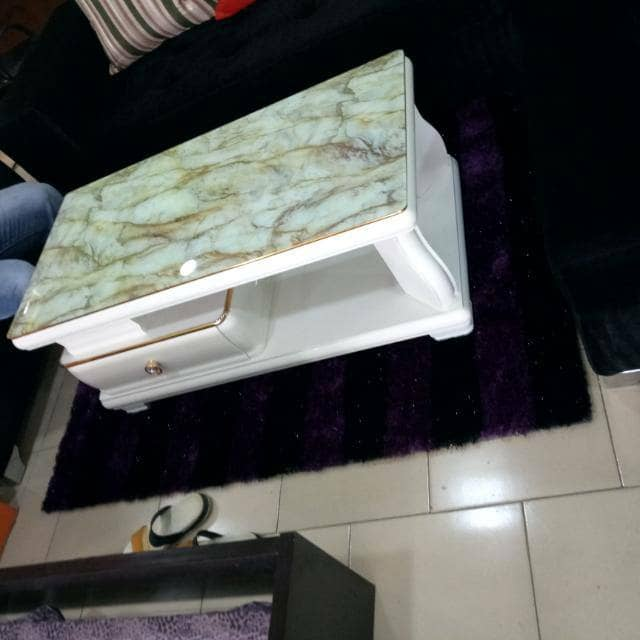 Exquisite Center Table With Cabinet