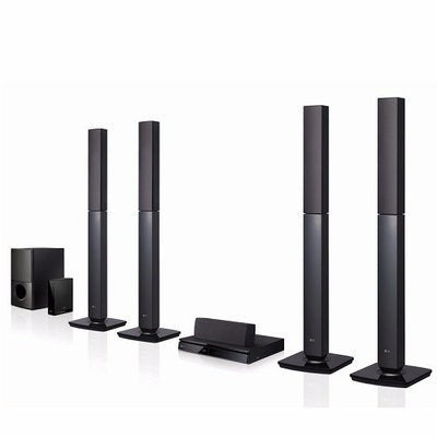 LG 1000W Powerful Bass DVD Home Theatre System | AUD-655B