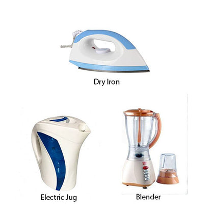 Blender, Jug and Dry Iron Special Kitchen Deal