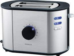 Havells Titania 870 Watts Stainless Steel Pop-up Toaster (Black)