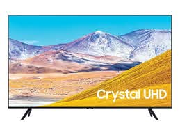 Samsung 50 Inches 4K UHD Smart TV | TU8000