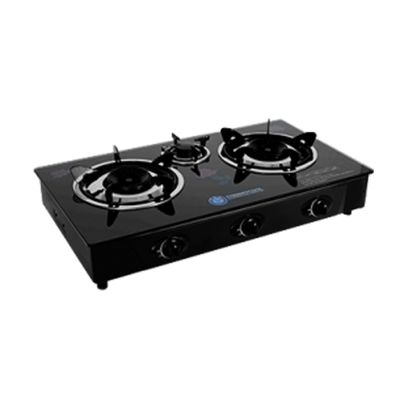 Haier Thermocool 3Hob Table Top Glass Gas Burner