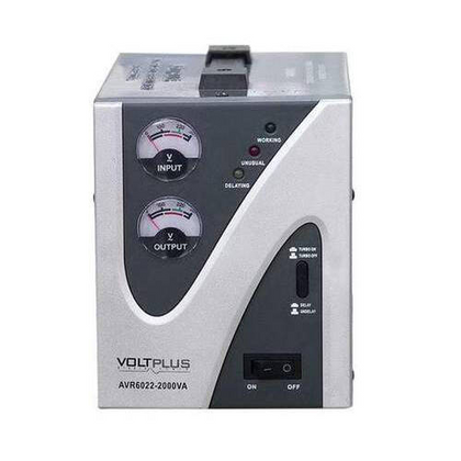 VOLTPLUS 2000 Watts Automatic Voltage Stabilizer | 2000VA