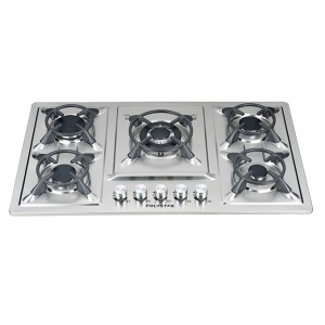 Polystar 5 burner in-built Gas hub | PV-HBS5816