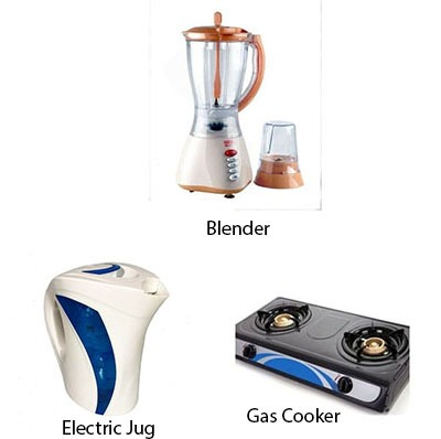 Blender, Jug, Gas Stove Special Kitchen Deal