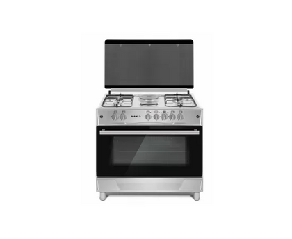 MAXI Gas Cooker 60*90 (4 + 2 ) INOX