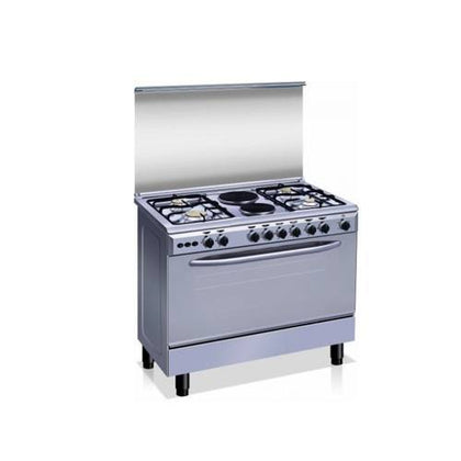 Nexus Standing Gas Cooker With 4 Gas Burners and 2 Electric | GCCR-NX-8000S(4+2)
