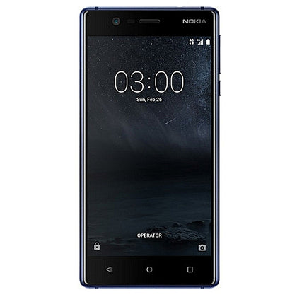 Nokia  3 5 Inch Ips (2Gb, 16Gb Rom) With 4G Lte Tampered Blue