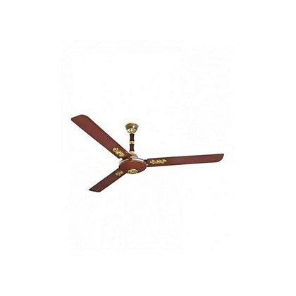 Qasa 60 Inches Brown Ceiling Fan | QCF-60L