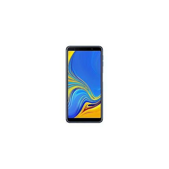 Samsung  Galaxy A7 2018 6.0 Inch (64Gb, 4Gb) Android 8.0 Oreo, (24Mp Triple Cam + 24Mp Selfie) 4G Lte