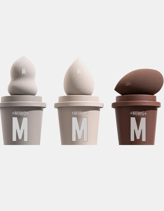 Soft Beauty Egg Makeup Coffee Cup Puff