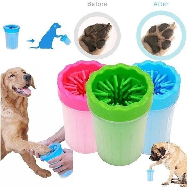 Pet Dogs & Cats Dirty Paw Washer Cup