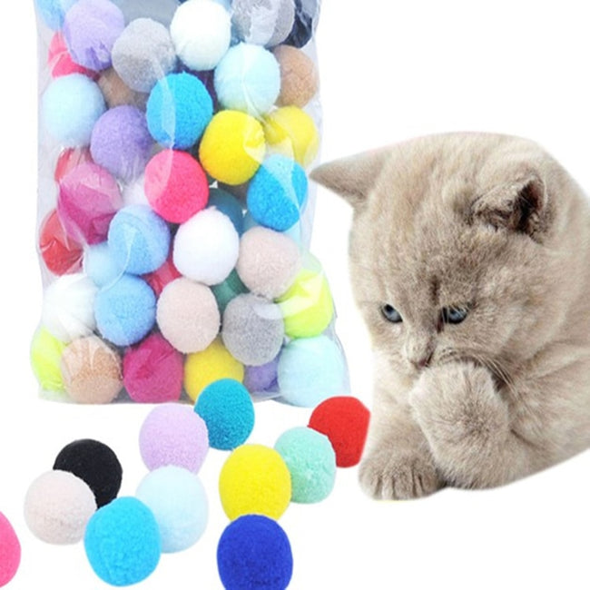 Stretch Plush Ball Toys for Your Pets - 10 pcs/lot