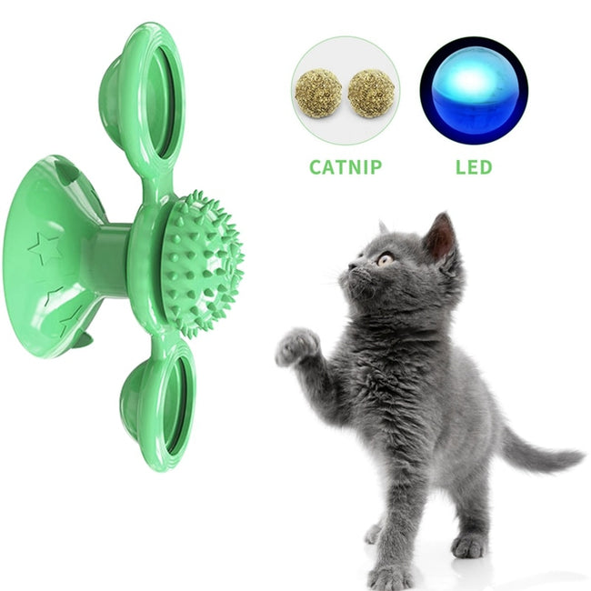 Whirling Windmill Ball Puzzle for Pet Training | Pet Toys