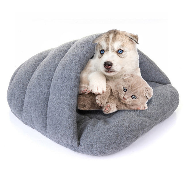 Winter Warm Cat Beds Slippers Style Dog Bed Pet Dog House Cat Pets Heated Mat Soft Sleeping Cushion Nest Cave Bed Pets Products