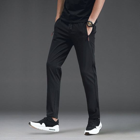 MRMT 2020 Brand Autumn Men's Trousers Casual Pants Slim Straight Loose Pants for Male Thin Trouser