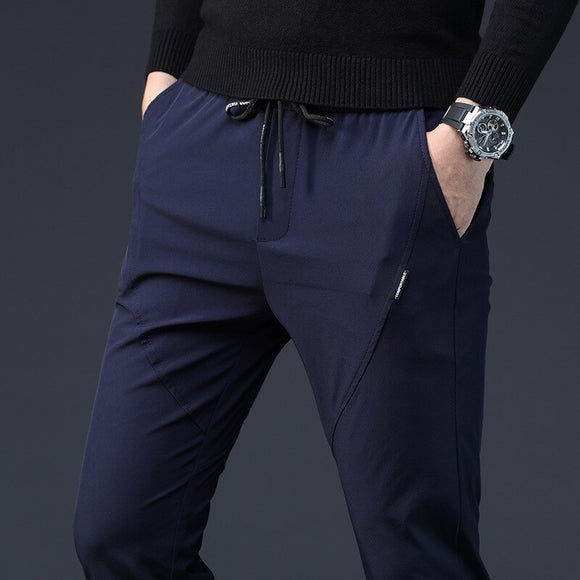 MRMT 2020 Brand Summer Men's Trousers Casual Clothes Ultra-thin Pants for Male Loose and Tight Air-breathable Trousers