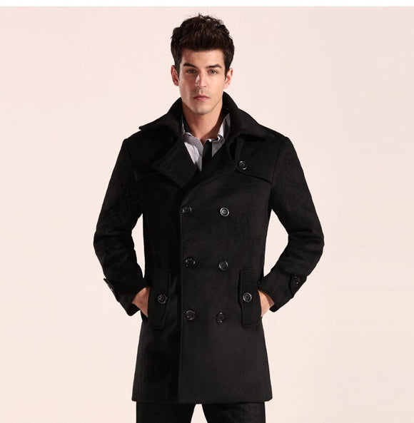 MRMT 2021 Brand Autumn and Winter Men's Jackets Woolen Overcoat for Male Casual Woolen Jacket Outer Wear Clothing Garment