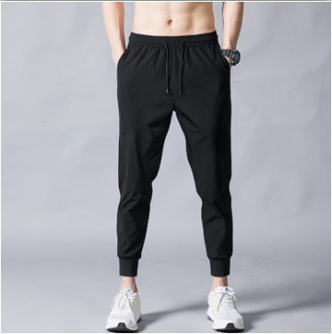 MRMT 2020 Brand Summer Men's Trousers Thin Fashion Slim Ninety Points Pants for Male Leisure Small Feet Trouser
