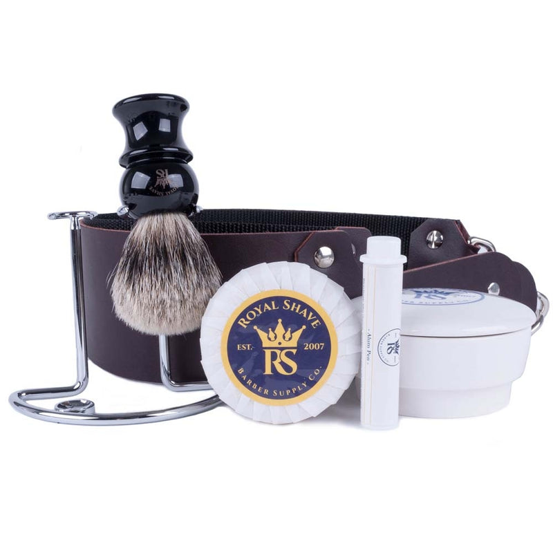 RoyalShave 5-Piece Add-On Straight Razor Set