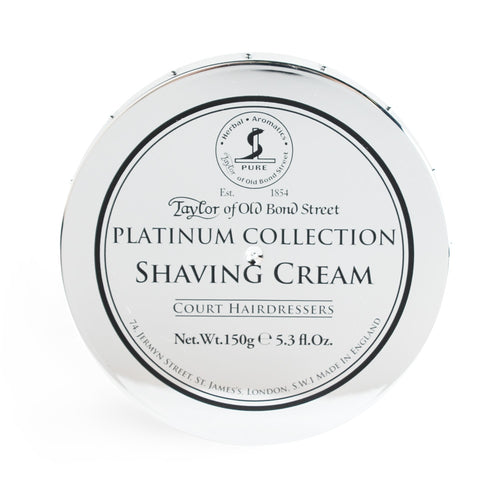 Taylor of Old Bond Street Shaving Cream Platinum Collection