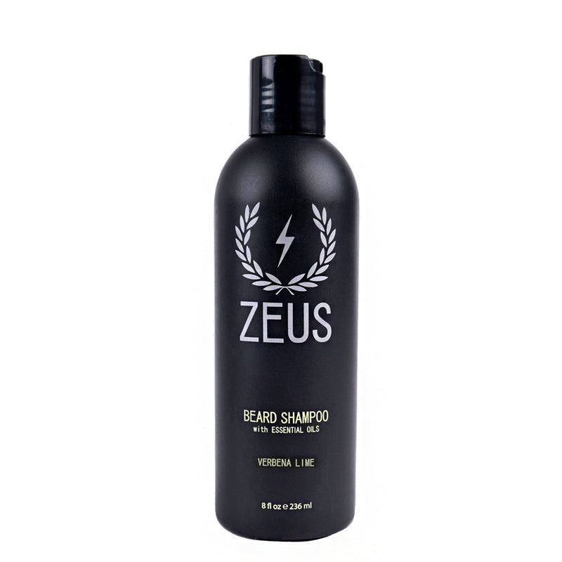 Zeus Beard Shampoo Wash 8 oz Verbena Lime