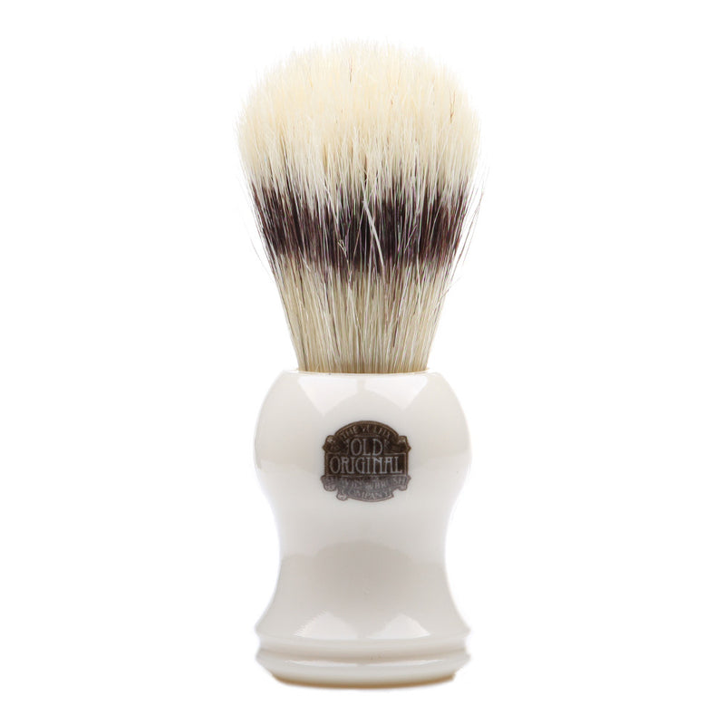 Vulfix VS-5 Pure Bristle Shaving Brush - Faux Ivory Resin