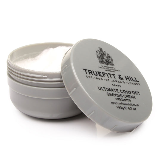 Truefitt and Hill Ultimate Comfort Shaving Cream - Unscented