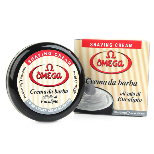 Omega Hard Shaving Cream in Bowl