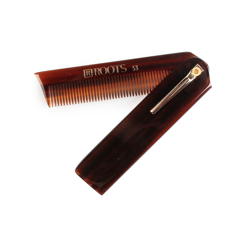 Roots Folding Pocket Comb