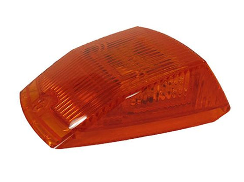 Single Class 8 Square Style Light - Amber