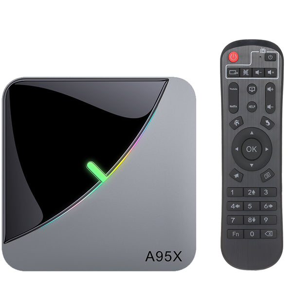 Nintai AA12 Android TV Box - 4K/8K HDR Resolutie - 64GB ROM - 4GB RAM