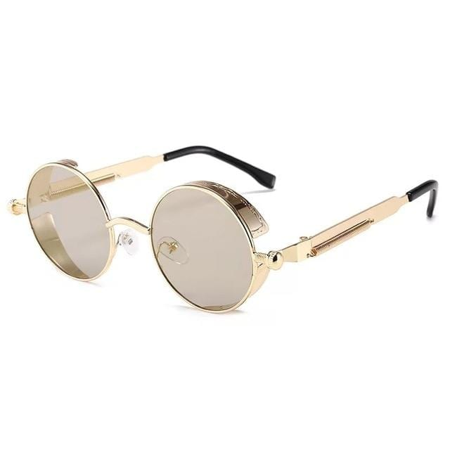 Steampunk Spectacles™ Gold Frame + Lens Color