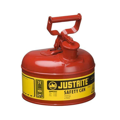 Justrite® Type I Safety Cans