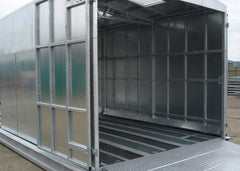 Galvanised Steel Bunded Wash-down Unit Compound