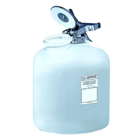 Self-Close Corrosive Waste Can