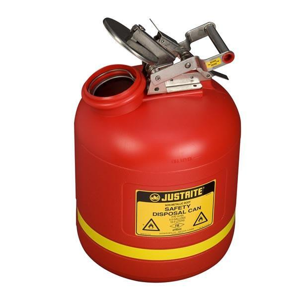 Justrite Solvent Safety Can