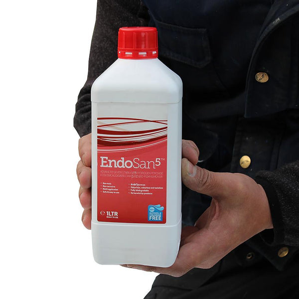 EndoSan5™ Water Treatment Chemical - 20-05-001 ||1ltr Tub of 50