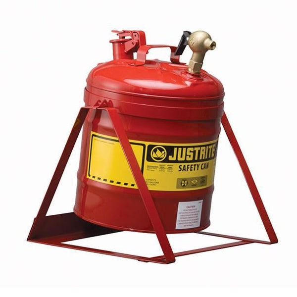 Justrite® Laboratory Can - 7150146 ||19ltr capacity with 08540 tap & stand