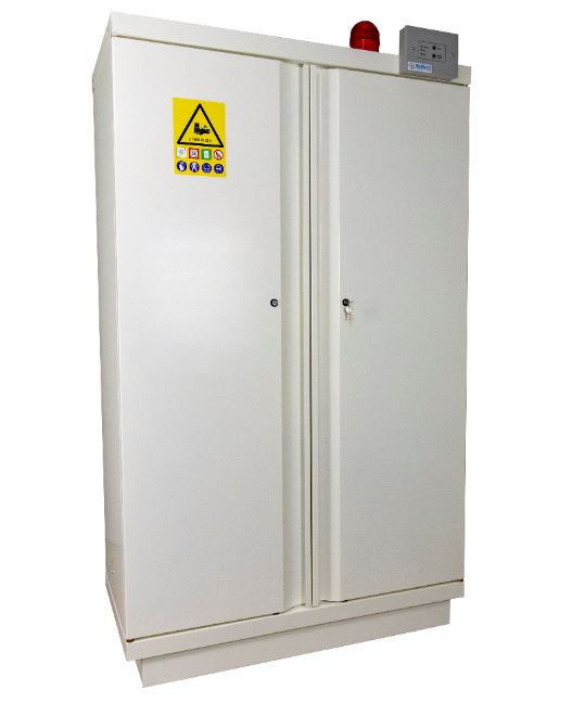90 Minutes Tested 2 Door 1950mm High Lithium-ion Battery Cabinet - 795+LI