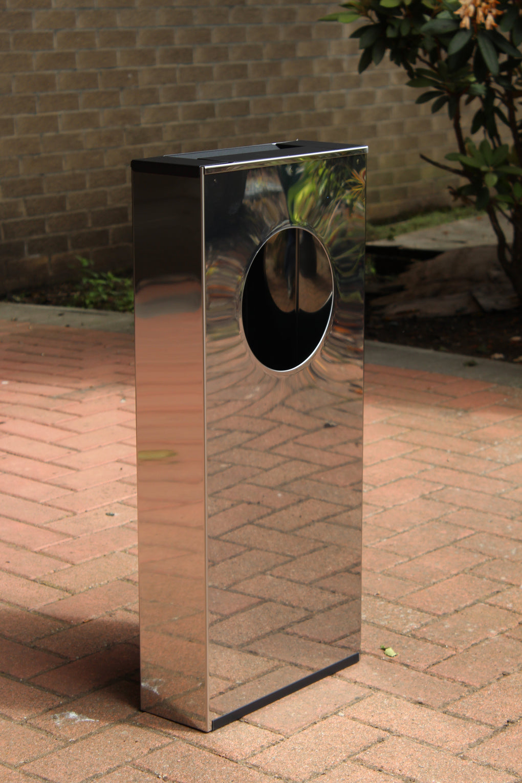 Free Standing S/S Combi Waste Bin/Ashtray ASHT-SS || Stainless Steel