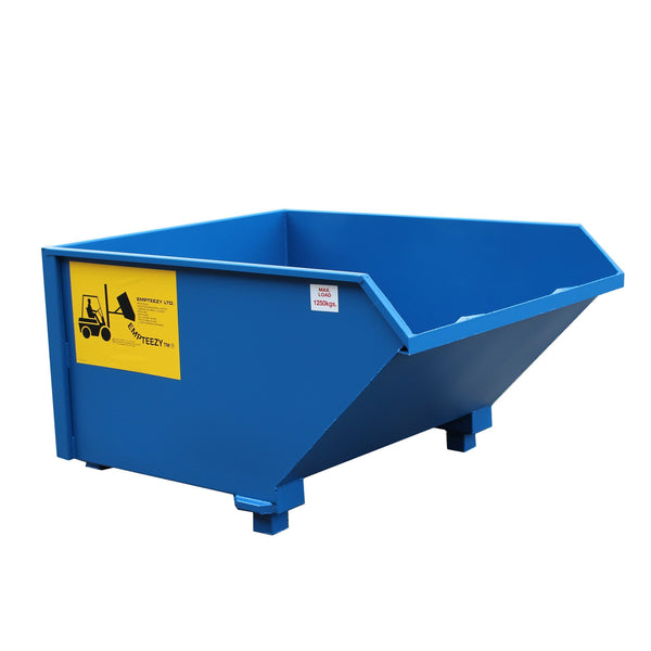 Auto Tipping Skip - ATS11L ||1.1m³ on legs