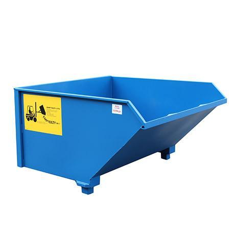 Auto Tipping Skip - ATS16L ||1.6m³ on legs