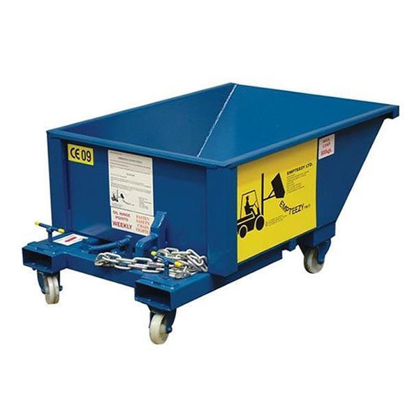 Auto Tipping Skip - ATS2C ||0.25m³ on castors