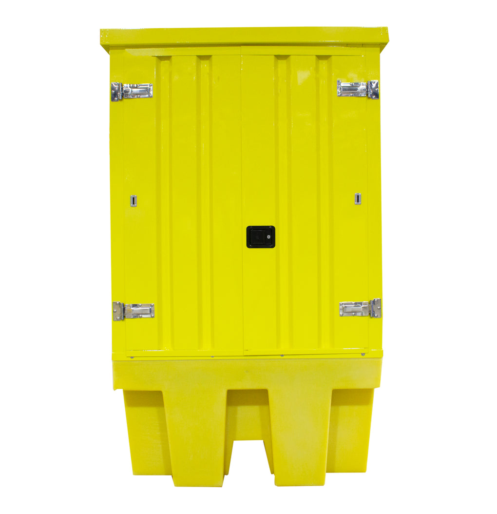 Hard Covered Spill Pallet - BB1HCS || For 1 IBC