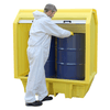 AS NEW - Spill Containment Pallet with Hard Cover ||2 drums