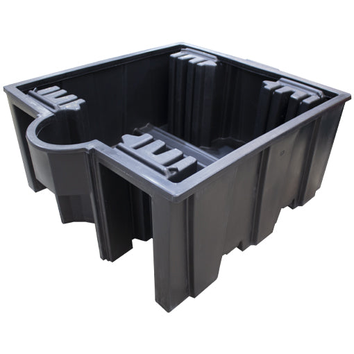 Single IBC Spill Pallet (In Black Only) - BB3 ||1125ltr Sump Capacity