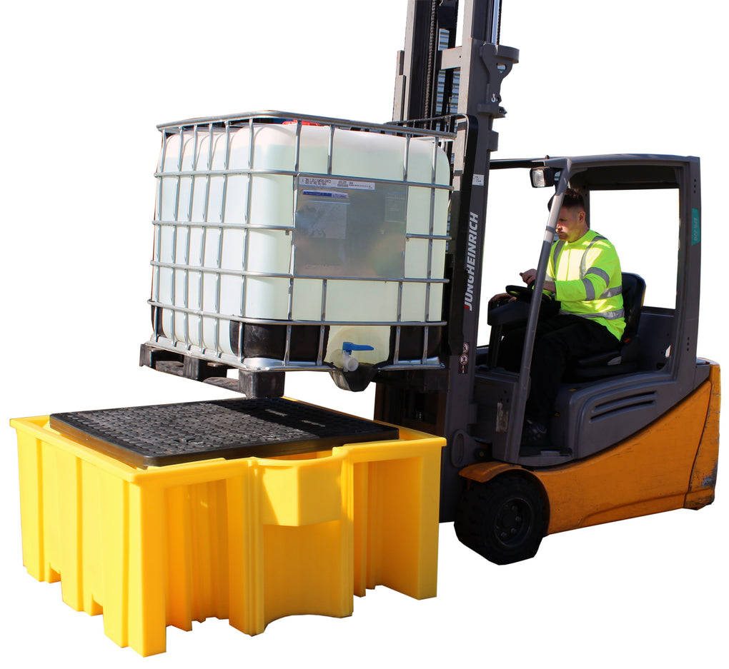 Single IBC Spill Pallet - BB3G ||1125ltr Sump Capacity