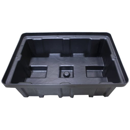 Plastic Drum Spill Pallet With 4-Way Forklift Entry (In Black Only) - BP2FW ||To Hold 2 Drums